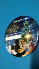 Badge neuf Le Noël enchanté Disney. Disneyland Paris. Noël 2019.