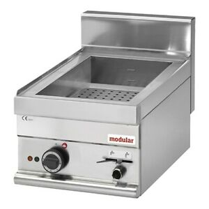 modular 650 Bain-Marie Gastronormbehälter 1500W 230V 400x650x280