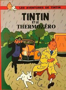 Tintin et le Thermozéro 78 pages noir et blanc