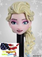 1/6 Elsa princess female head Frozen AS043 C For Tbleague phicen Hot toys ❶USA❶
