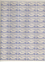 Canada CL44a White Dot Variety Mint VF NH Complete Sheet of 55  - Stuart Katz