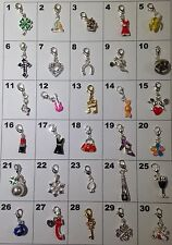 5x Silver Charms to fit Thomas Sabo or Links of London-Lucky Dip/Choose Your Own