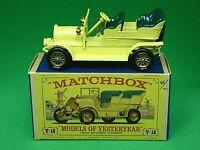 Matchbox Lesney Y16-1 1904 Spyker Tourer In Type 'D2' Box