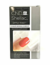 CND Shellac-Offly Fast 8 minute GEL polish removal care kit-Foil, Remover- 90621