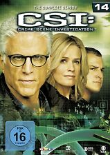LAURENCE FISHBURNE/JORJA FOX/+ - CSI: LAS VEGAS: SEASON 14 6 DVD NEU