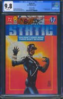 Static 1 (DC/Milestone) CGC 9.8 White Pages 1st Appearance of Static