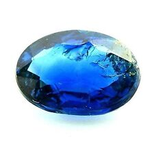 SAPPHIRE BLUE 0.61 cts. SI1. Non heated. Chanthaburi, Thailand. With Certificate