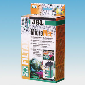 JBL MicroMec Biofilter Pellets filter media biological biomedia balls aquarium