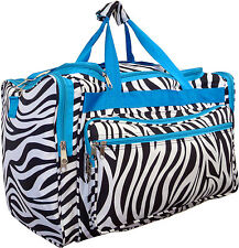 "Women's 19""/22"" Fashion Animal Print Gym Dance Cheer Travel Carry-on Duffle Bag"