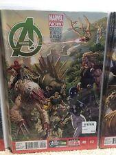 Avengers #12 Hickman Spencer Deodato Comic Book