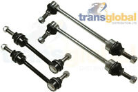 Front & Rear Anti-Roll Bar Drop Link Rod x4 for Land Rover Discovery 2 TD5 V8