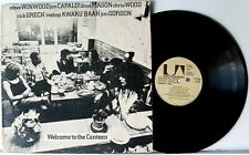 """TRAFFIC, ETC. """"WELCOME TO THE CANTEEN"""" (LIVE)>12"""" VINYL RECORD ALBUM>VG+>1971"""