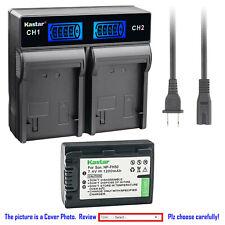 Kastar Battery LCD Rapid Charger for Sony NP-FH50 & Cyber-shot DSC-HX1 DSC-HX100