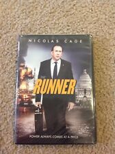 ~ THE RUNNER ~ DVD 2015 DRAMA NICOLAS CAGE GET FREE SHIPPING