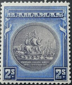 Bahamas 1931 Two Shillings SG 131 mint