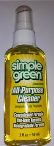 4 x Lemon Simple Green All Purpose Cleaner Concentrate 59ml miniature