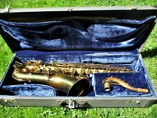 HOLTON TENOR SAXOPHONE, 1928, SERIAL # 30806, CASE, CLEAN
