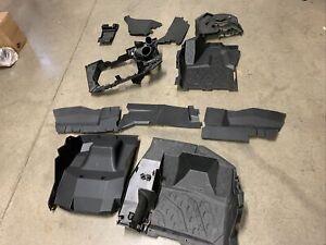 CAN AM MAVERICK X3 1000 R 1000R TURBO PLASTIC INTERIOR PANELS FLOOR CENTER KIT B