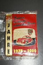 Insigne badge PORSCHE 356 CLUB ALLEMAGNE 25 ans 1975-2000 rencontre EMAILLE