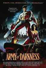 Army OF Darkness Poster 04 A3 Box Canvas Print