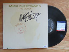 "MICK FLEETWOOD ""THE VISTOR"" 1981 Record signed by FLEETWOOD MAC Drummer PSA DNA"