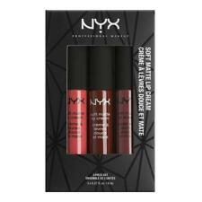 NYX Soft Matte Lip Cream Set 08 - Ibiza, Madrid, Budapest