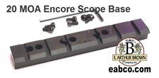 T/C Encore Pro Hunter 20 MOA Scope Mount Base by EABCO
