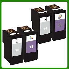 4 Ink Cartridge for NO.14 NO.15 Z2300 X2600 X2670 Z2310 X2630 Z2320 X2650