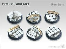tabletop-art Ruins of Sanctuary Base 30mm RL-5 Bases Rundlippe, sakrale Ruinen