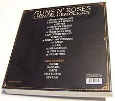 GUNS N'ROSES-CHINESE DEMOCRACY-BOXSET T.SHIRT/BANDANA/PATCH/BELT BUCKLE/KEY RING