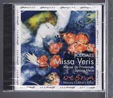EPHREM PODGAITS/ D. BORTNIANSKY CD NEW SPRING MASS/ LITURGY FOR 3 VOICES