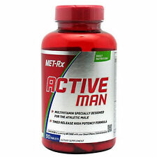 Met-Rx Active Man Multivitamin, 90 Timed Released Capsules