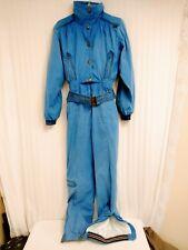 Skea Paris/Vail Womens Light Blue One Piece Insulated Ski/Snow Suit Size 8 NICE