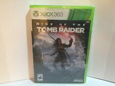 Rise of the Tomb Raider (Microsoft Xbox 360) Brand New Factory Sealed! Cib