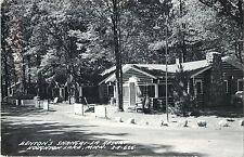 A View of Benton's Shangri-La Resort, Houghton Lake MI RPPC