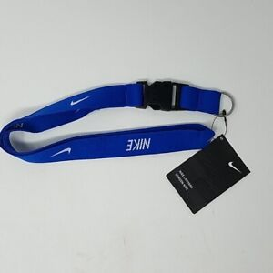 Nike Just Do It Blue Lanyard with Nike Tag - Authentic