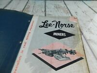 Lee-Norse Miner CM33X & CM42X Operating Manual Vintage