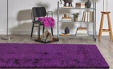 purple area rug 5u0027 x 7u0027 solid shag carpet new free shipping