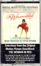 "STEVIE WONDER "" THE WOMAN IN RED "" MUSICASSETTA SIGILLATA  (MC - K7) 5300304"