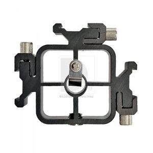 3 in 1 Hot Shoe Bracket Triple Head Mount Adapter UK Seller
