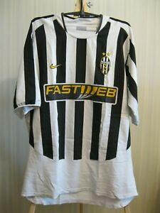 Juventus 2003/2004 Home Size XL Nike shirt jersey maillot camiseta Nedved era