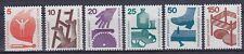 Berlín im nº 402 - 405 ra, 408 ra, 411 ra **, lot 1971, correos frescos, mnh