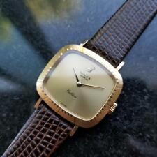 Ladies Rolex Cellini Geneve Ref.4082 25mm 18k Solid Gold Manual-Wind 1980s L64