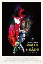 Knife+Heart (Un couteau dans le coeur) - U.S. Movie Poster - 27x39 NEW!