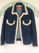 Levi's vintage 70500 04 Denim fourrure découpé veste taille M