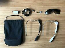 2x Google Glass Explorer Edition - XE: Charcoal + Cotton - Good Condition