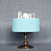 It's a Boy Baby Shower Cake Topper, Gender Reveal Party Decorations, USA