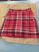 BNWOT Christopher Banks Size 4 Misses Women's Skorts Shorts Stretch Plaid School