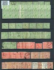 La Grande-Bretagne 1924-36 Lovely Old Time Lot Avec Mh, Used, blocs ETC Cat. 2069 £