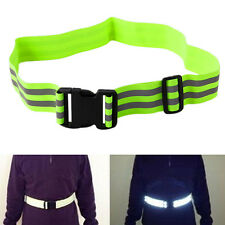 High Visibility Reflective Security Safety Belt Running Jogging Walking Biking